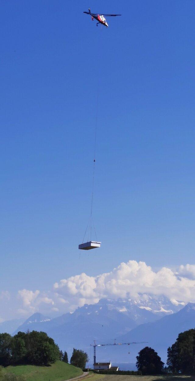 Helikopterflug Hallenbad